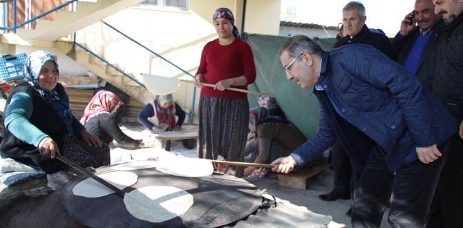 Başkan Çelikcan mahallerde Vatandaşla buluştu.