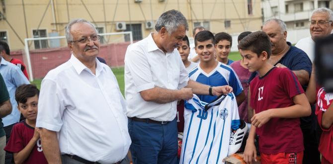 Başkan Zeydan Karalar, Sporun ve Sporcunun Yanında