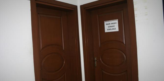 Belediye Arşiv Odası Hazine Dairesi Gibi Korunaklı