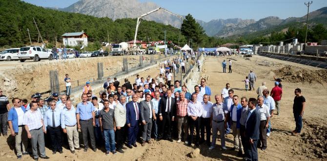 POZANTI SU MAYIS'DA ÜRETİMDE