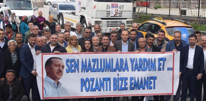 """""""ADANA, CUMHURBAŞKANIMIZA AK BELEDİYELER SÖZÜ VERDİ"""""""