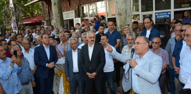 """POZANTI'LININ """" ÇAY HASRETİ"""" SONA ERDİ."""