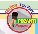 """POZANTI KONUŞUYOR """" BABACAN HAREKETLİLİĞİ"""
