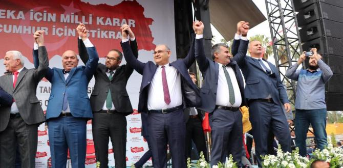 """CUMHUR POZANTI'DA """" ÇAY DEDİ"""""""
