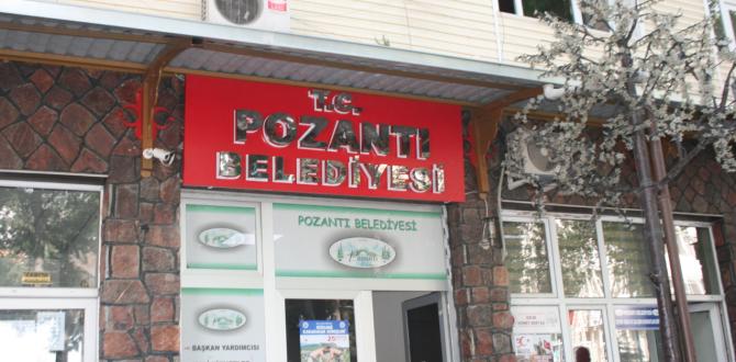 BELEDİYE DE T.C. İBAREMİZİ KOYDU.