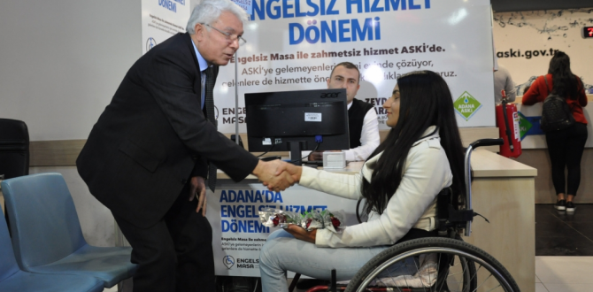 ASKİ, engelli abonelerin yaşamını kolaylaştırmak için çalışıyor