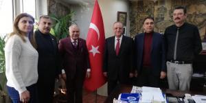 TESK Genel Başkanvekili Aksak'tan Başkan Sözütek'e ziyaret
