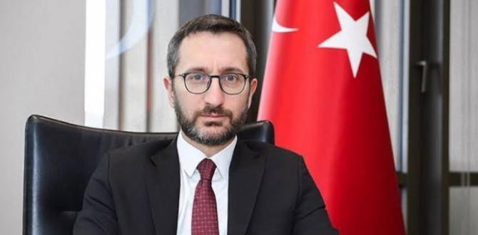 """BAŞKAN ALTUN: """" BASIN KARTLARINA DİKKAT ÇEKTİ"""""""