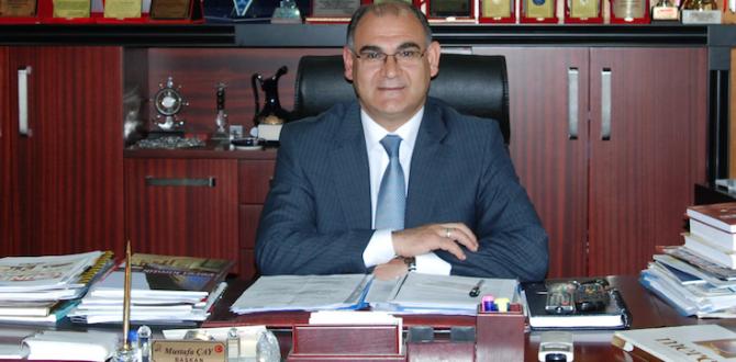 Başkan Çay'dan 23 Nisan Ve Ramazan Ayı Mesajı