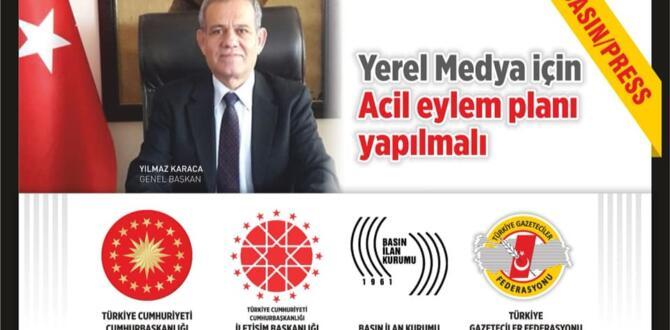 Türkiye Gazeteciler Federasyonu'ndan İletişim Başkanlığı'na Çağrı