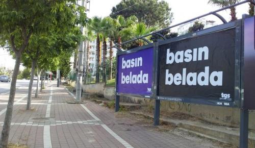 TGS'den 'Basın Belada' kampanyası