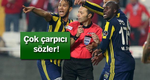 Fenerbahçe, Cüneyt Çakır'a ateş püskürdü