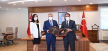 İletişim Başkanı Keleş'den Vali Elban'a Ziyaret