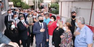 Pakdemirli ve Sarıeroğlu'ndan MHP Adana İl'e Ziyaret