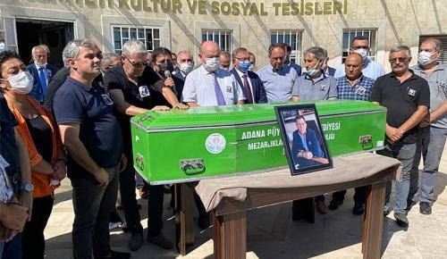 GAZETECİ MUSTAFA ÖZGÜR VEFAT ETTİ.